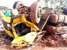 Três pessoas morrem em acidente com caminhão em Nova Esperança