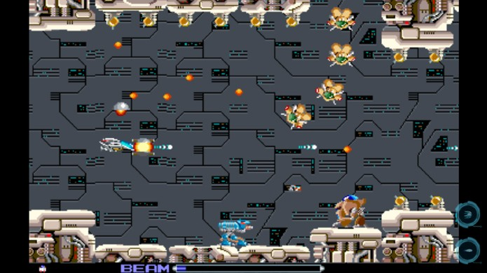 Clássico R-Type relembra o jogo de nave agora para iOS e Android (Foto: Reprodução/Google Play)