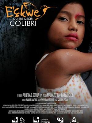 Cartaz do filme colombiano 'Ecwke quer dizer beija-flor' (Foto: Divulgação/Festival Visões Periféricas)