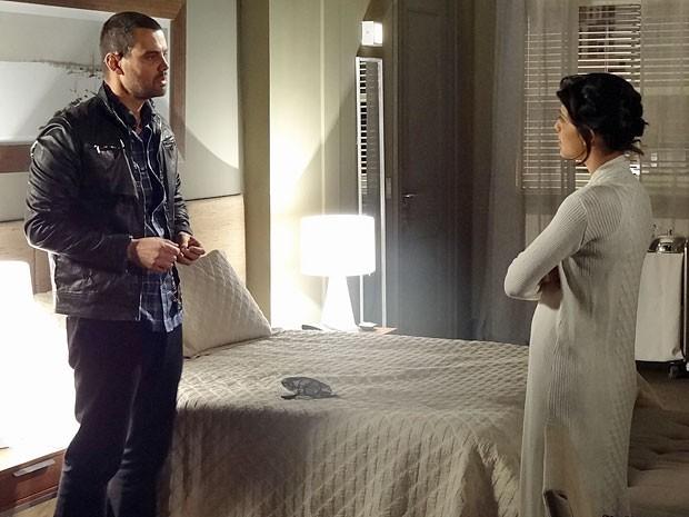 Fernando pretendia retomar o relacionamento com Miriam (Foto: Amor Eterno Amor/TV Globo)