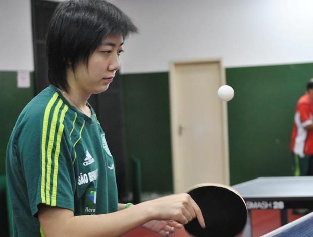 Gui Lin , do tênis de mesa  (Foto: João Gabriel Rodrigues / Globoesporte.com)