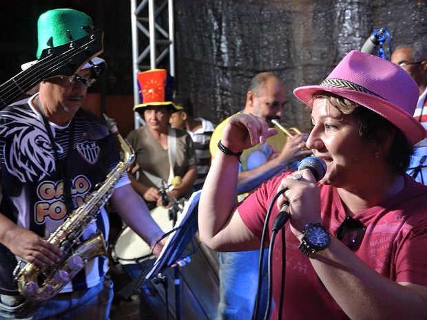 Boi Lambeu concurso de marchinhas 2015 em São João del Rei  (Foto: Thiago Morandi/ Divulgação)
