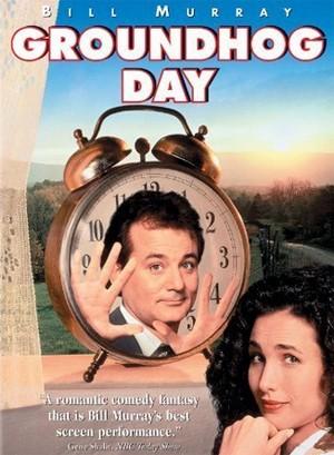 Cartaz americano de 'Feitiço do tempo', de 1993 (Foto: Divulgação)