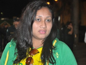 Giuliana da Silva, 27 anos, dona de casa