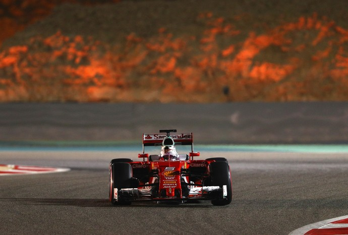 Sebastian Vettel Ferrari Fórmula 1 Bahrein 2016 (Foto: Getty Images)