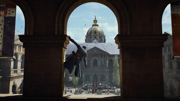 Cena de 'Assassin's Creed Unity' (Foto: Divulgação/Ubisoft)