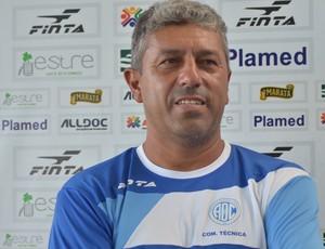 Gilberto está confiante na classificação (Foto: Felipe Martins/GLOBOESPORTE.COM)