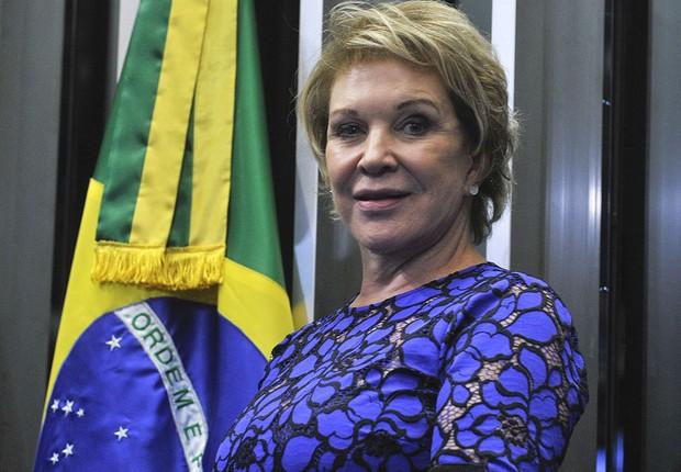 A senadora Marta Suplicy (PMDB) (Foto: Geraldo Magela/Agência Senado)