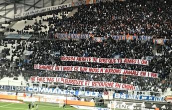 """Torcida do Olympique chama Drogba de """"bebê chorão"""" e diz não a retorno"""