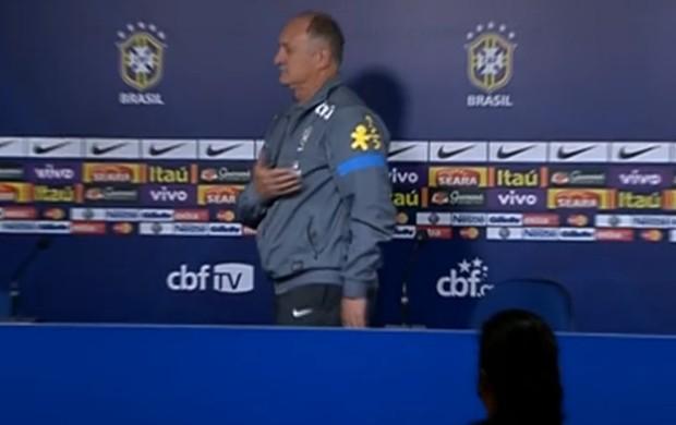 Felipão seleção brasileira coletiva (Foto: Reprodução SporTV)