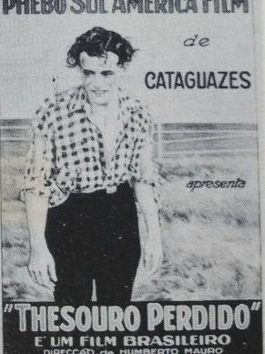 """Cartaz do filme """"Thesouro Perdido"""" (Foto: Foto: Divulgação/ Arquivo Pessoal)"""