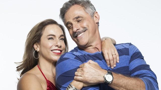 Cissa Guimarães e Oscar Magrini (Foto: Divulgação)