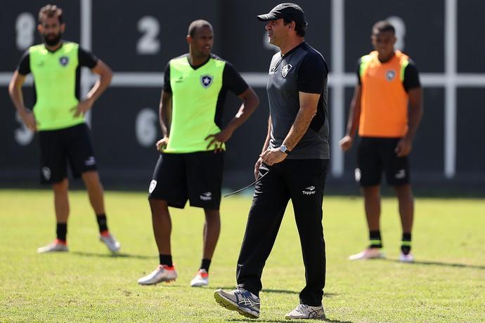 Ricardo Gomes e Airton Botafogo (Foto: Vitor Silva/SSPress/Botafogo)