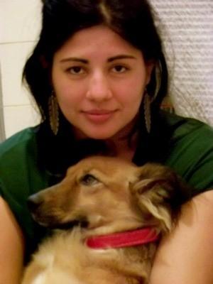 A dona da cadela, Cléo, está muito abalada (Foto: Arquivo pessoal)