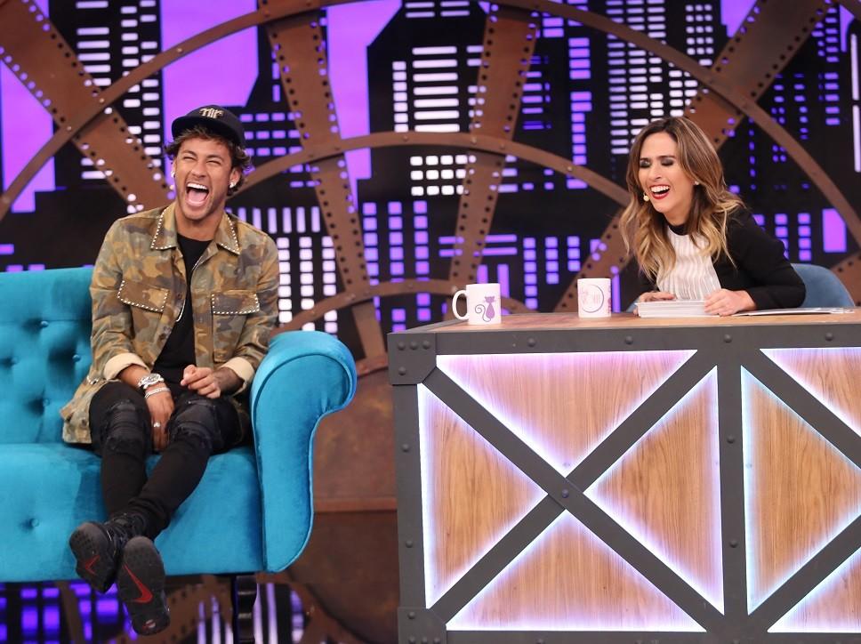 Neymar  o primeiro convidado da nova temporada de Lady Night (Foto: Divulgao/Multishow)