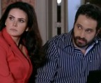 Lisandra Souto e Caco Ciocler em cena de 'Salve Jorge' | Reprodução