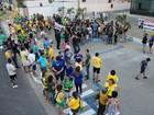 Em Teresina, manifestantes ocupam pista da Av.João XXIII em apoio ao MP