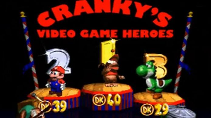 Mario aparece nos créditos finais de Donkey Kong Country 2 (Foto: Reprodução / Thomas Schulze)