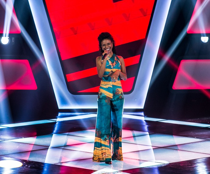 Cris Silva conquista três técnicos da Audição do 'The Voice Brasil' (Foto: Isabella Pinheiro/Gshow)