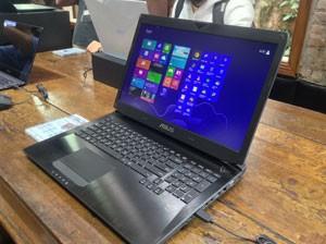 Notebook gamer G750JX da Asus custa R$ 14 mil (Foto: Gustavo Petró/G1)