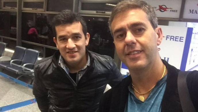 Néstor Camacho Avaí (Foto: Reprodução/Twitter)