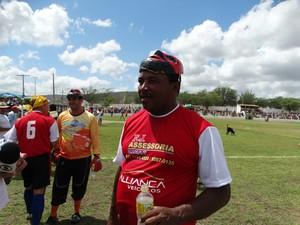 jogador papangu (Foto: Lafaete Vaz / GloboEsporte.com)