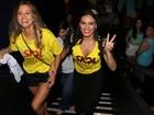 Letícia Lima ganha 'vale-night' e curte Salvador: 'Ana não fica com ciúmes'