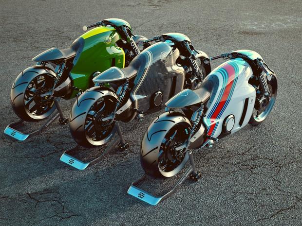 Lotus C-01 pode ser customizada pelo futuro dono (Foto: Divulgação)