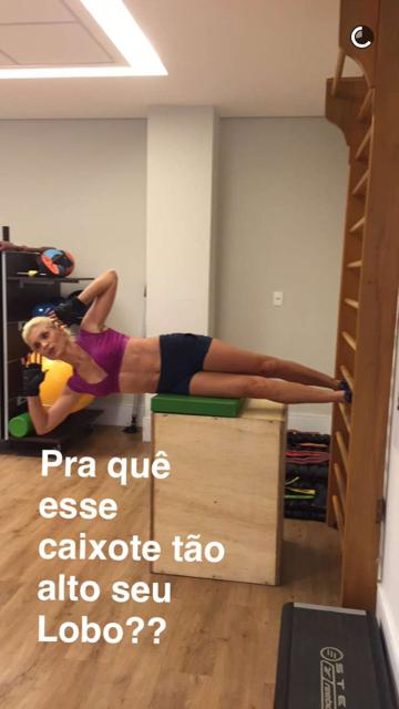 Flavia Alessandra (Foto: Snapchat / Reprodução)