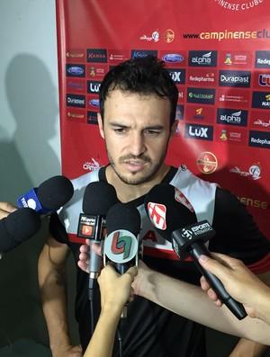 Ronael, lateral do Campinense (Foto: Silas Batista / GloboEsporte.com)