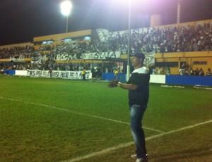 Everton Goiano pede paciência à torcida do Mixto (Foto: Lucas de Senna/ Globoesporte.com/mt)