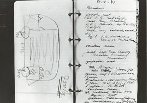 Desenho de Ben Pon indica o que seria a Kombi (Foto: Divulgação)