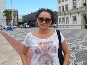Roseane Costa é funcionária pública  (Foto: Tássio Andrade/G1)