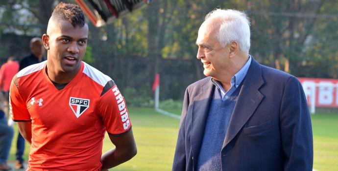 Kelvin Leco São Paulo (Foto: Érico Leonan / saopaulofc.net)