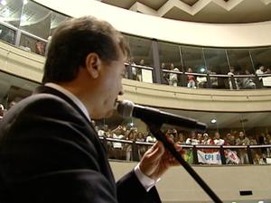 Deputado Gildevan Fernandes (Foto: Reprodução/TV Gazeta)