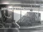 Vídeo flagra fuga de preso da cadeia de Rebouças, no Paraná