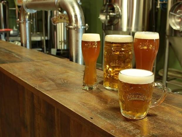 Cervejarias apostam na pureza e tradição (Foto: Cervejaria Holzweg/Divulgação)