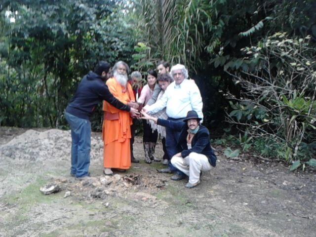 Monge indiano (Foto: Fábio Campos / TV Tem)