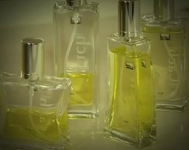 Perfume feito com cachaça quer ganhar espaço na França (Foto: Reprodução / TV Tem)
