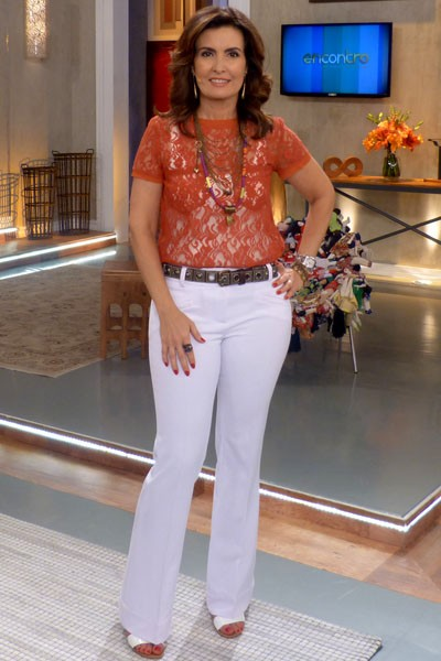 Look do dia 24/02 (Foto: Encontro com Fátima Bernardes/TV Globo)