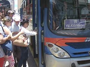 Transporte Coletivo Uberaba (Foto: Reprodução/TV Integração)