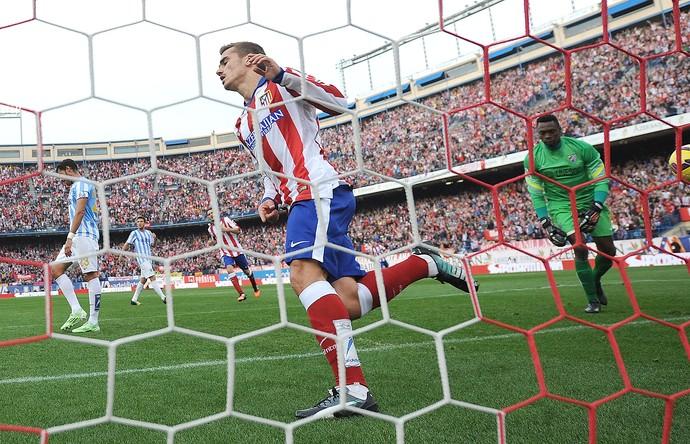 Griezmann, Atlético de Madri x Malaga (Foto: Getty Images)