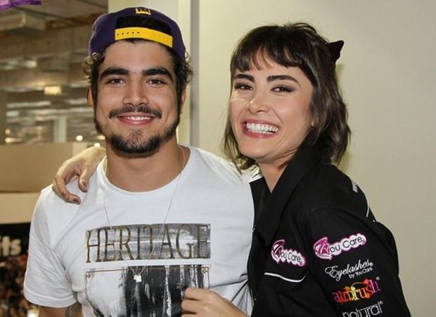 Caio Castro e Maria Casadevall (Foto: AgNews)
