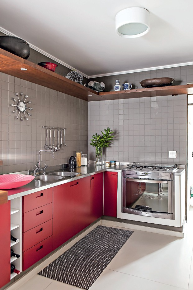 cozinha; Gustavo Calazans (Foto: Edu Castello/Editora Globo)