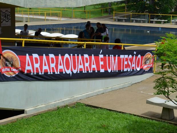 Segundo dia de matrículas é tranquilo na Unesp de Araraquara (Foto: Felipe Turioni/G1)