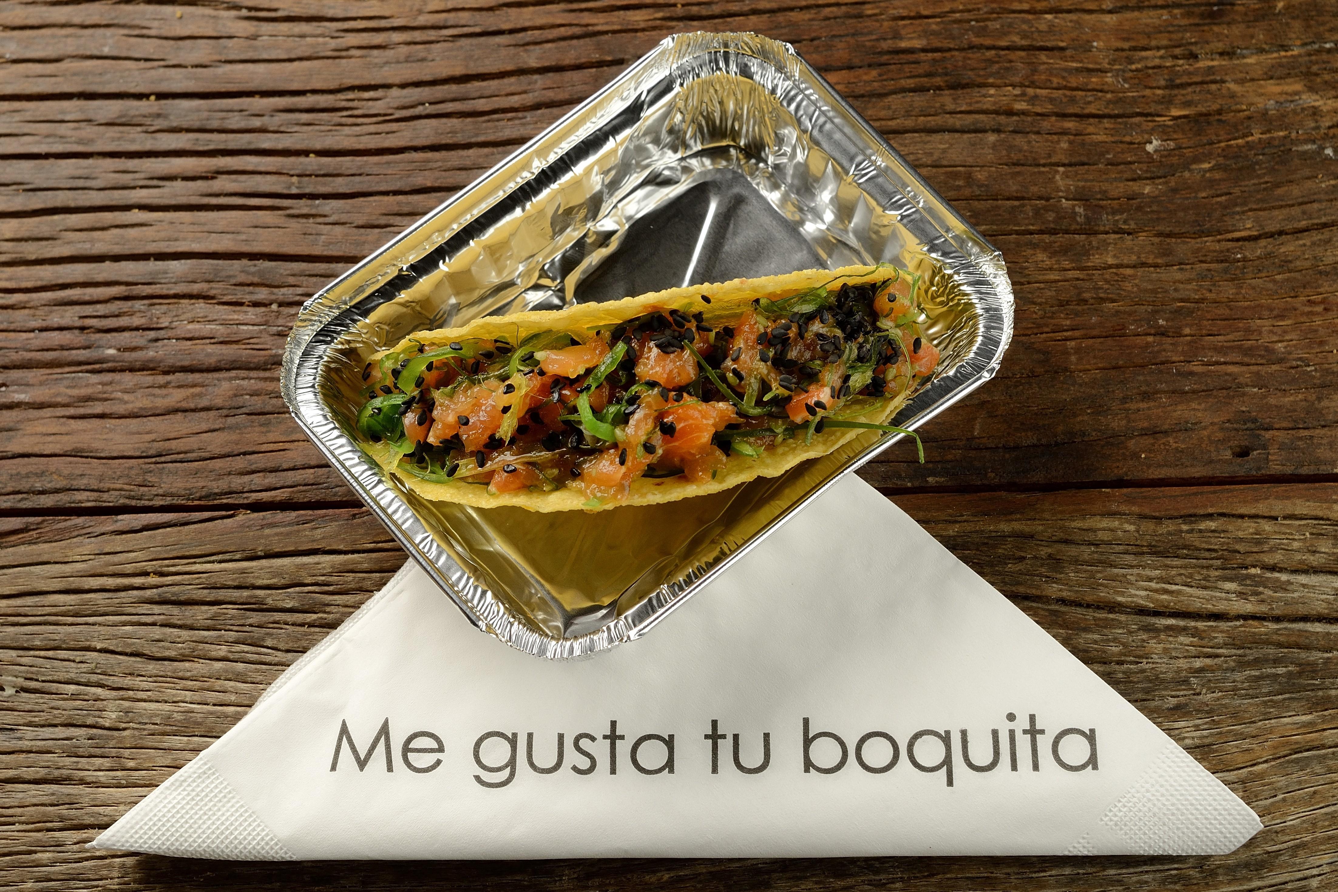 Poke Taco do MeGusta (Foto: Divulgação)