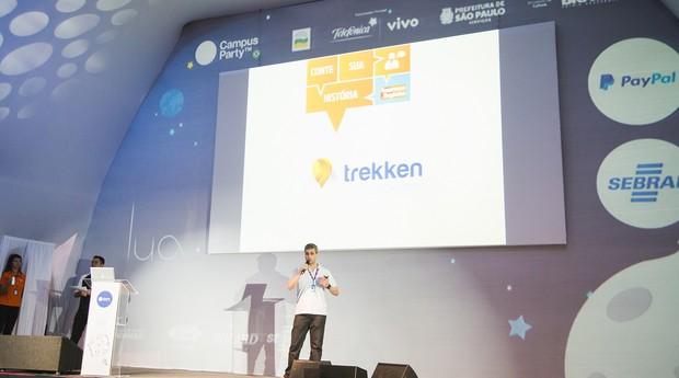 Conte sua História PEGN na Campus Party: 14 startups mostraram suas inovações em um pitch de 3 minutos  (Foto: Willian Alves )