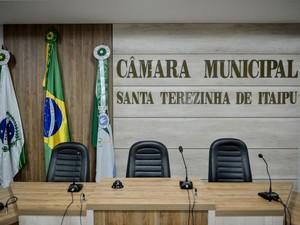 MP denuncia sete pessoas por fraude em licitação de Câmara de Santa Terezinha de Itaipu (Foto: Divulgação/Câmara de Santa Terezinha de Itaipu)