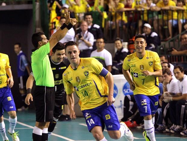 Futsal Brasil x Argentina (Foto: Flávio Moraes / Divulgação)