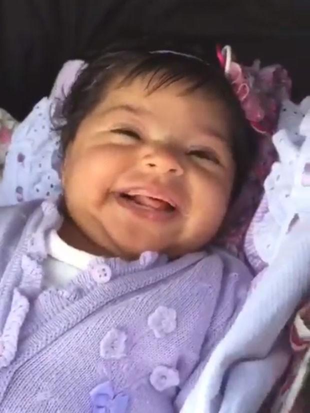 Yolanda, a filhinha de Juliana Alves (Foto: Reprodução Instagram)